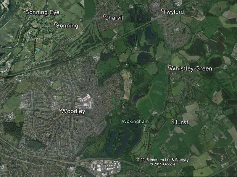 Map Loddon corridor GE